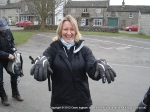 6/3/11 Showing off the big gloves in Kettlewell