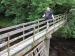 24/7/10 Crossing the River Rawthey near Low Haygarth