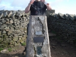 18/9/10 Completing the last and highest of the Yorkshire tops, Whernside