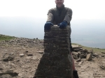 29/4/11 On top of Pen y ghent