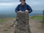 6/8/11 Completing Pen y ghent for the fifth time as a Rambling Badger!