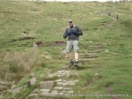 18/9/10 Descending Whernside after completing the Yorkshire tops