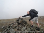 7/4/12 Adding to the cairn on Bowscale Fell