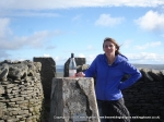 18/9/10 Celebrating after climbing Whernside
