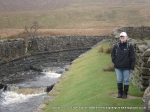 12/2/11 Alongside the aquaduct that crosses the Settle to Carlisle line