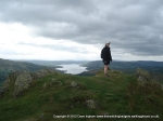 14/5/11 On Nab Scar, our first Wainwright with Windermere in the background