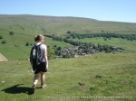 3/7/11 Walking back towards Kettlewell after visiting Middlesmoor Pasture