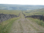 30/7/11 Following the track onto Kilnsey Moor