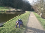 10/3/12 Struggling during our 30 mile canal walk