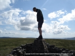 3/7/10 Stood on top of Wild Boar Fell