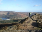 28/12/11 Overlooking Ladybower Reservoir from Win Hill