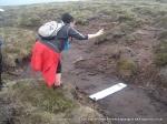 6/6/10 Building bog bridges on Yockenthwaite Moor