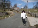 29/3/13 On the way back to Ingleton after reaching Tow Scar trig
