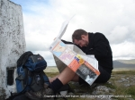 20/8/11 A spot of map reading at Moughton trig point