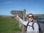 25/5/13 Looking forward to the climb up Ingleborough
