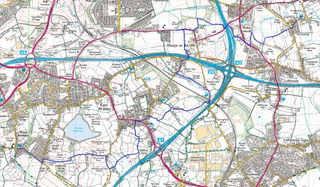 lcw9 routemap