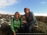 14/2/10 With daughter Charlotte near Hag Dyke on Great Whernside