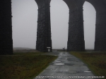 8/12/13 Looking small next to the Ribblehead Viaduct