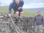 10/7/10 Wall hopping on the way down from Darnbrook Fell