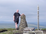 8/8/10 Next to the Buckden Pike cairn and the worlds biggest