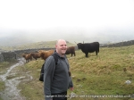 26/2/11 All smiles after safely passing the Highland Cattle