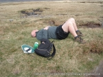 25/4/11 Resting on top of Great Shunner Fell
