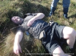 15/10/11 Flat out after slipping on Featherbed Moss