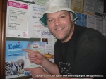 10/3/12 Posing with a Trailtrekker poster in Skipton station