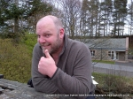 7/4/12 Thumbs up for the pub after a walk up Blencathra