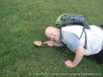 14/7/12 A funghi/fun guy near Wardlow trig in the Peak District