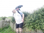 6/7/13 Carrying Snail on part of the Leeds Country Way