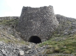 The large disused lime kiln near Green Hills