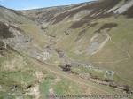 Looking back towards Blakethwaite Smelt Mill