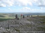 3/7/10 Looking towards Mallerstang Edge from Wild Boar Fell