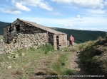 3/7/10 Passing an old building on the way down from Wild Boar Fell