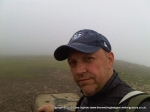 10/7/10 In the mist on Pen-y-Ghent
