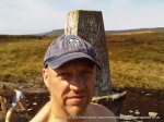 1/9/10 At the trig point on Darnbrook Fell
