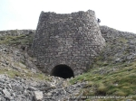 23/4/11 Inspecting the giant lime kiln near Green Hills