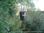 20/8/11 Following an overgrown stretch of the Ribble Way near Hellwith Bridge