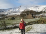 28/1/12 Posing in front on Mam Tor