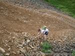 8/8/10 Struggling for grip near Buckden Lead Mine