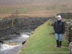12/2/11 Alongside the aquaduct that crosses the Settle to Carlisle line
