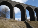 13/3/10 Walking under the Arten Gill Viaduct