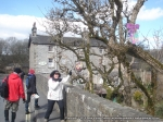 29/3/13 Pointing out an Easter egg on our way through Ingleton