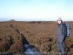 14/1/12 Approaching the trig at Alphin Pike