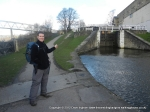 10/3/12 Pointing out the Bingley 3 rise locks