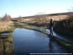 1/12/12 Waiting round on the Trans Pennine Trail