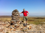 26/5/12 On Fountains Fell during a 19 mile walk with the Trailtekkers